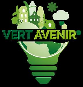 logo vert avenir isolation