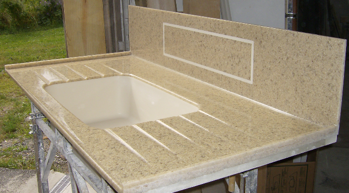 Inlay and Sink runoff drain