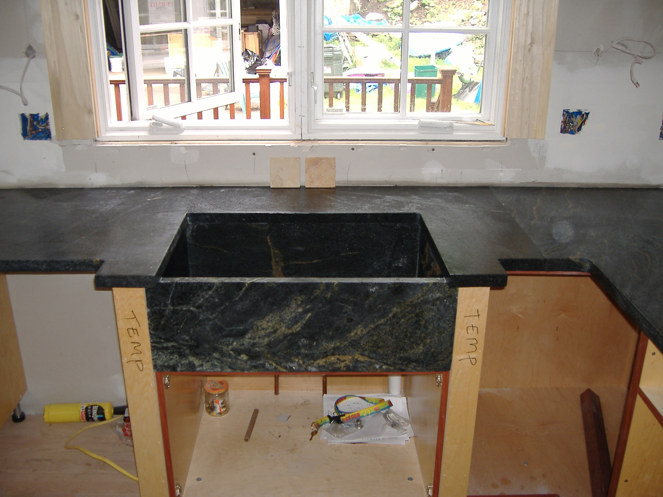SoapStone and Farm Sink