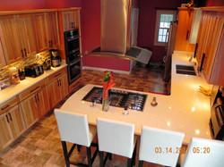 Tambora Kitchen with Hickory Cabinet