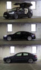 SX3 Tesla model S X 3 green motion solutons