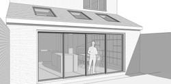 End Terrace Extension Render