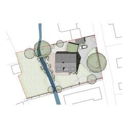 Mill Lane Rendered Site Plan