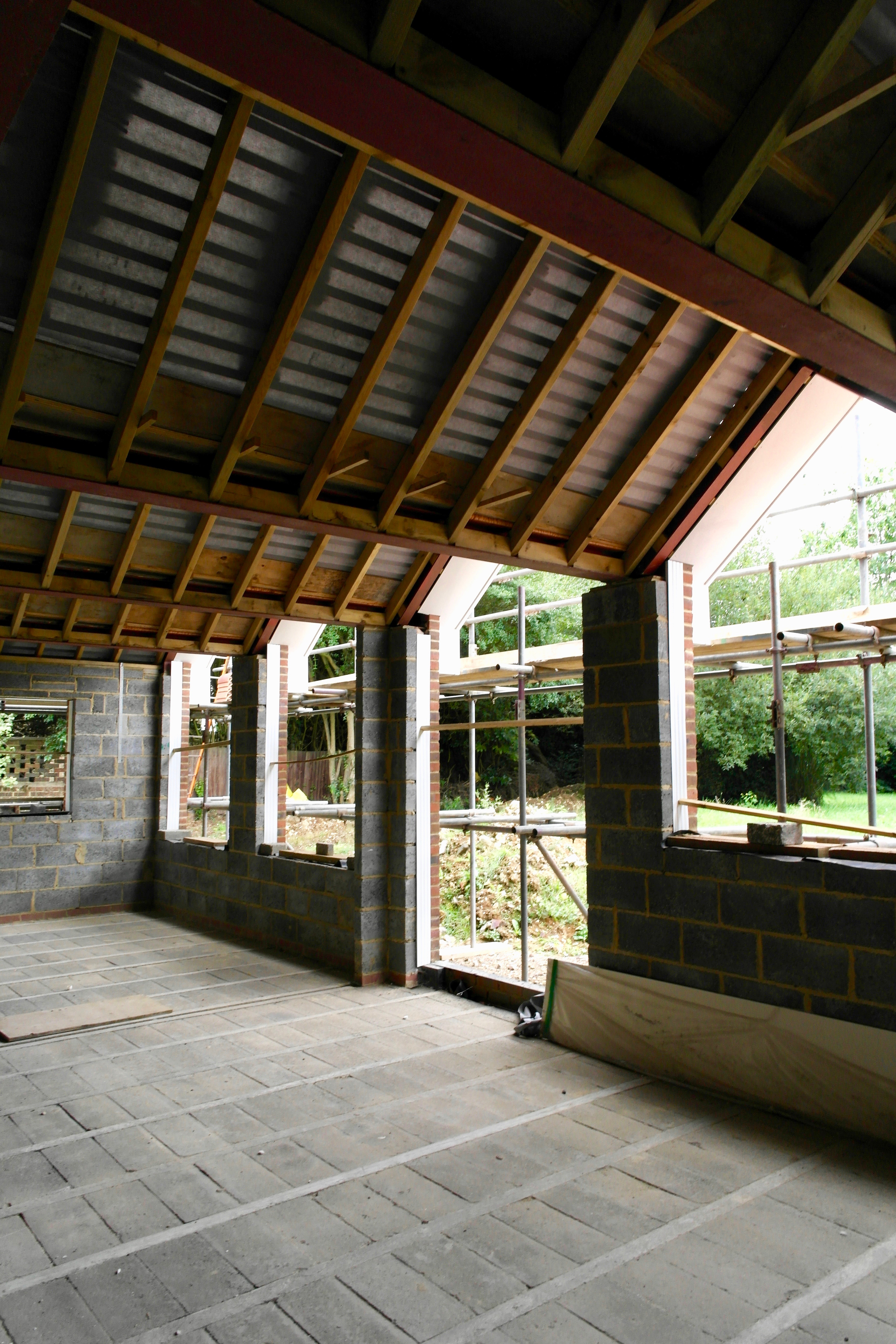 Dining Room Roof Form