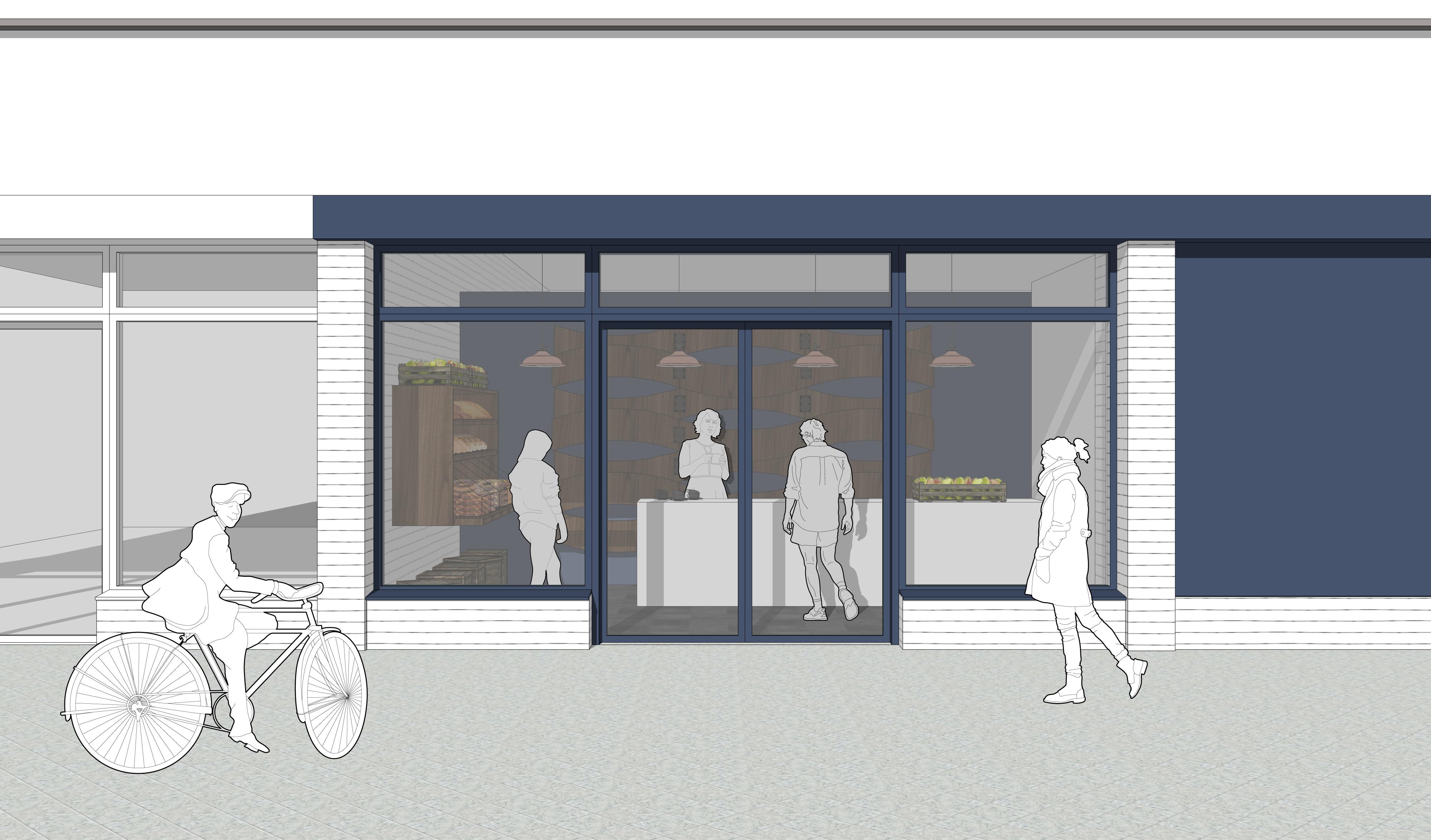 Belvedere Bakery Shop Front