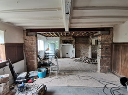 Country Manor Dining Room Work in Progre