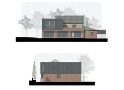Bay Cottage Rendered Elevations