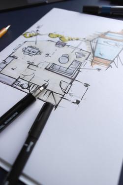 Concept Hand Sketch