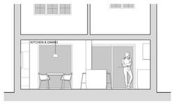 End Terrace Kitchen Section