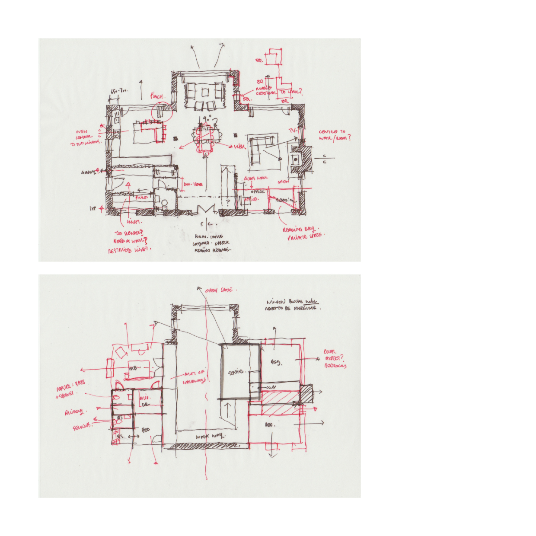 The Granary Concept Sketch