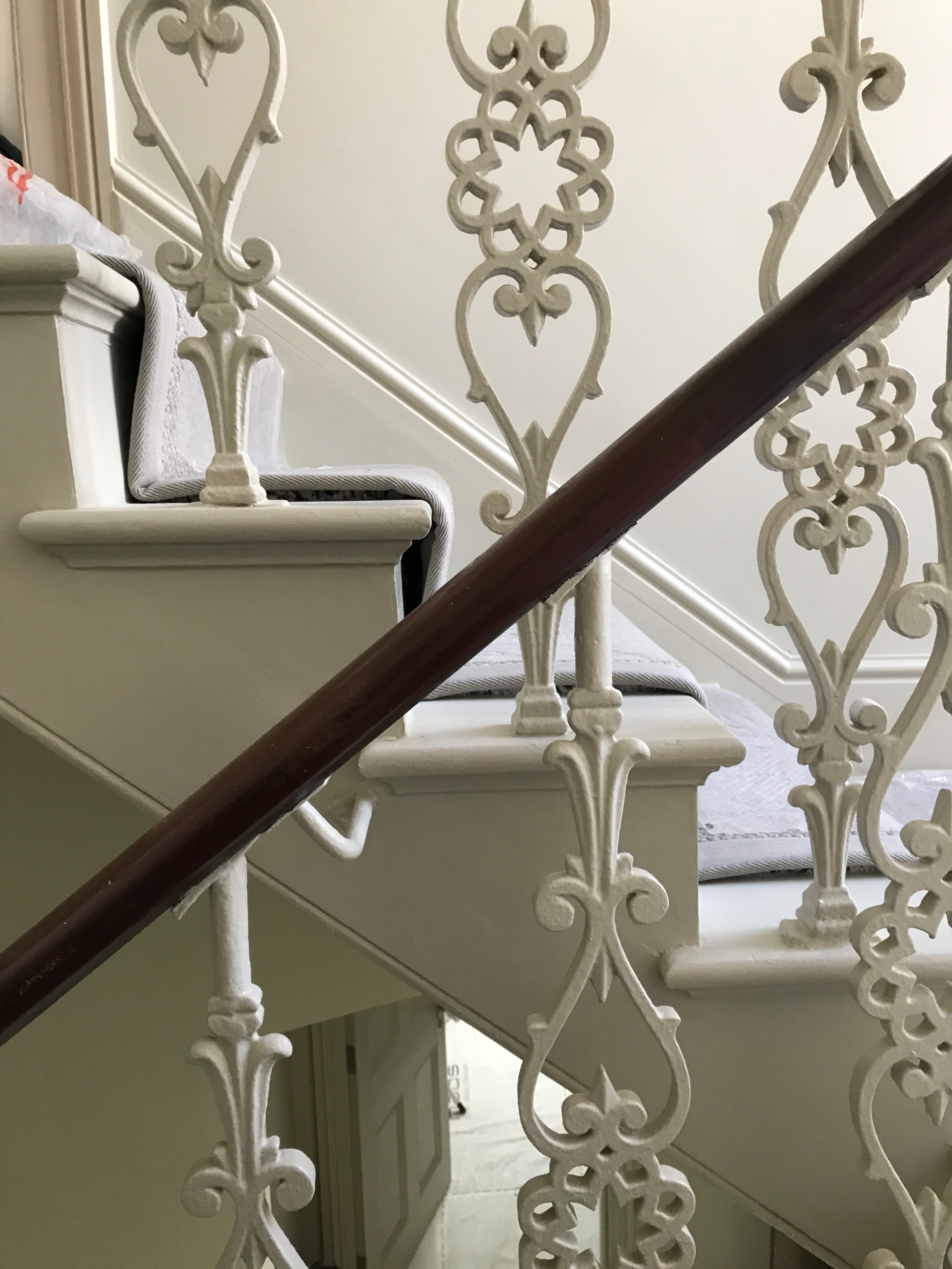 Ornate Iron Balustrade