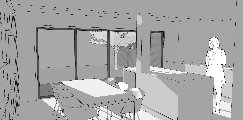 End Terrace Internal Render