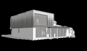 Architectural 3D Concept Render