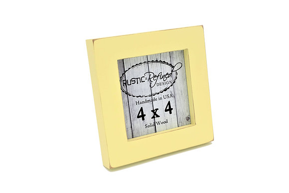 """4x4 1"""" Gallery Picture Frame - Daffodil"""