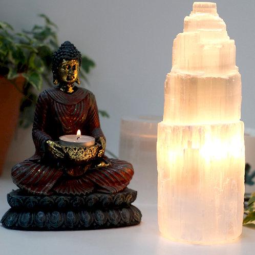 Small Selenite Salt Lamp
