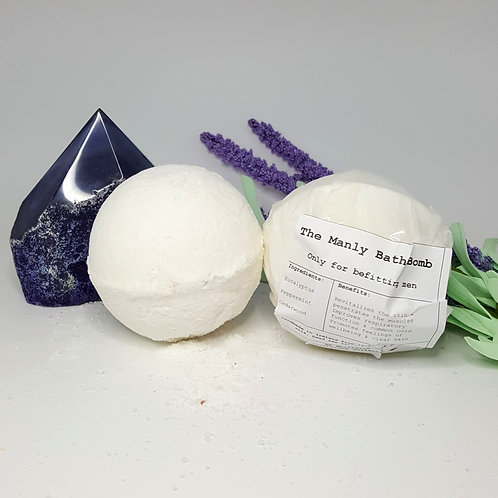'The Manly' Aromatherapy Bath Bomb