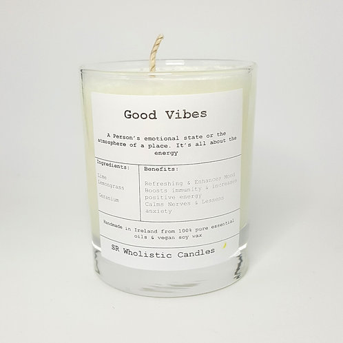 Goodvibes Aromatherapy Candle