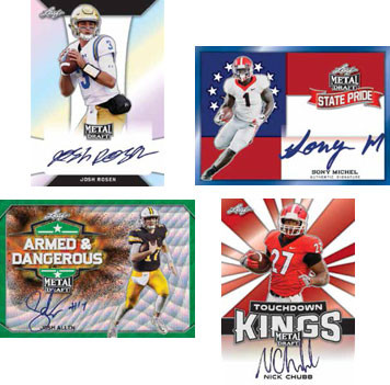 Why Leaf Metal Draft Football cards are a good investment