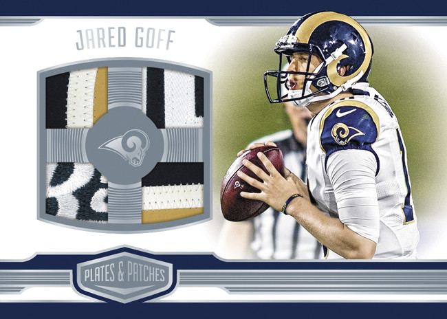 Panini announces 2016-17 Football Plates & Patches!