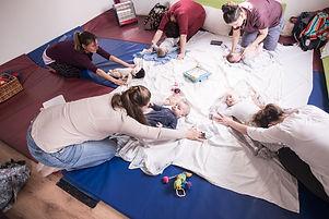 יוגה ותנועה נשים אחרי לידה