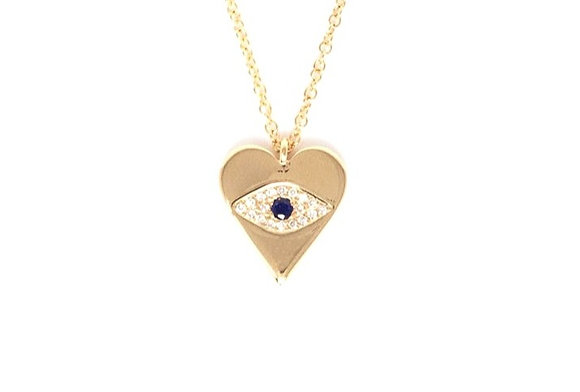 Evil Eye Heart