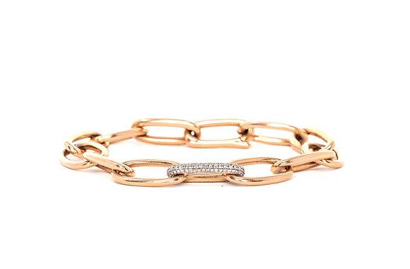 Rose Gold Diamond Chain