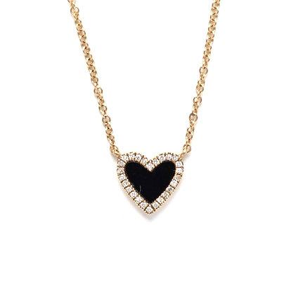 Mini Black Heart