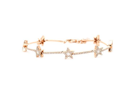Star Diamond Bracelet