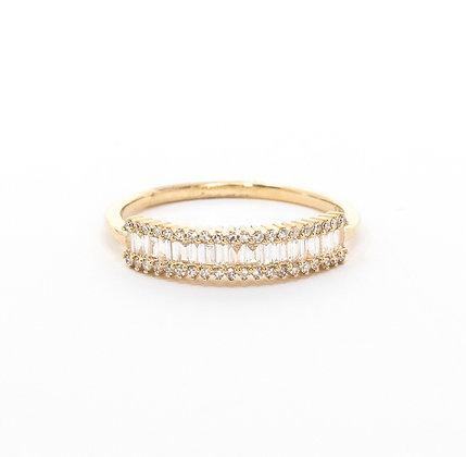 Glass Diamond Ring