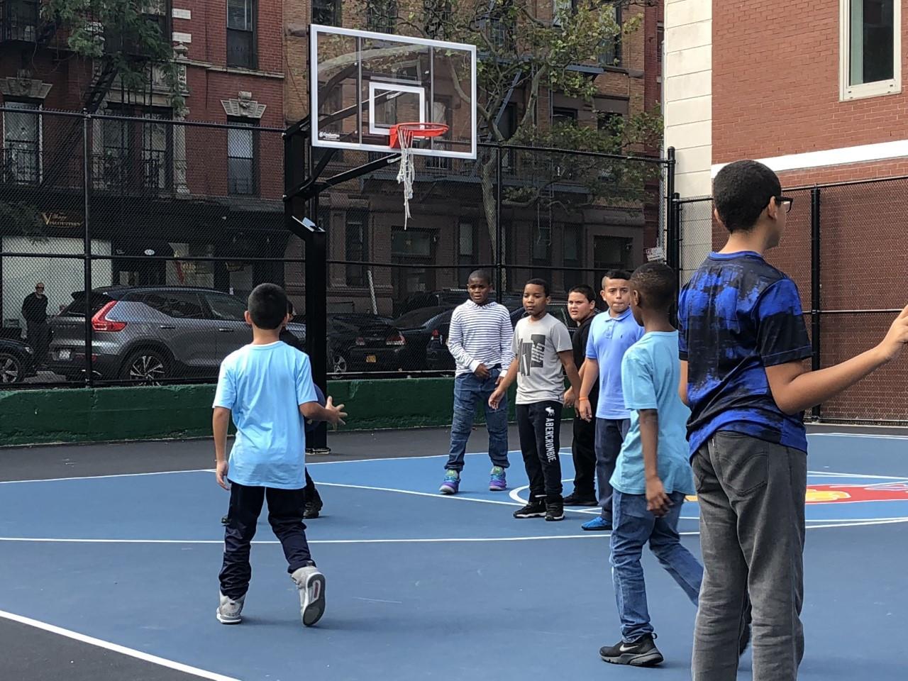 School Yard - Basketball Court