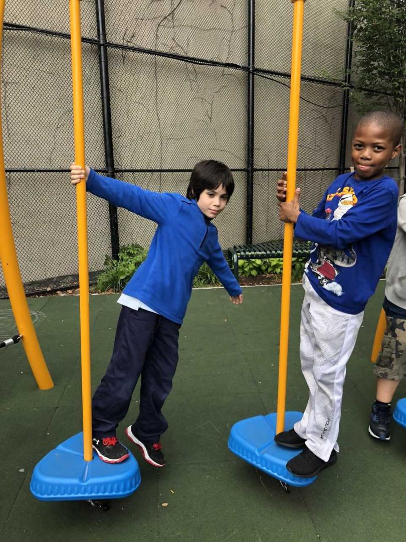 School Yard - Jungle Gym Pic 1