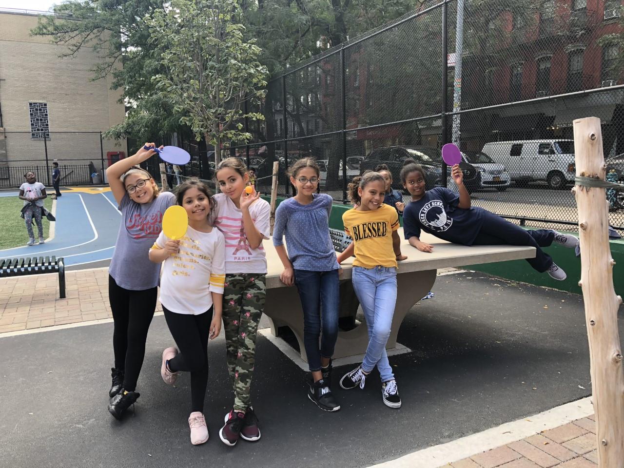 School Yard - Ping Pong Tables