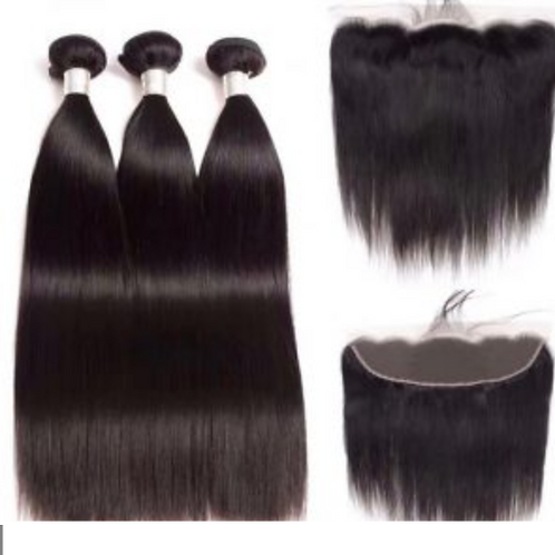 Flawless Collection - Bundle Kit w/ Frontal 13*4