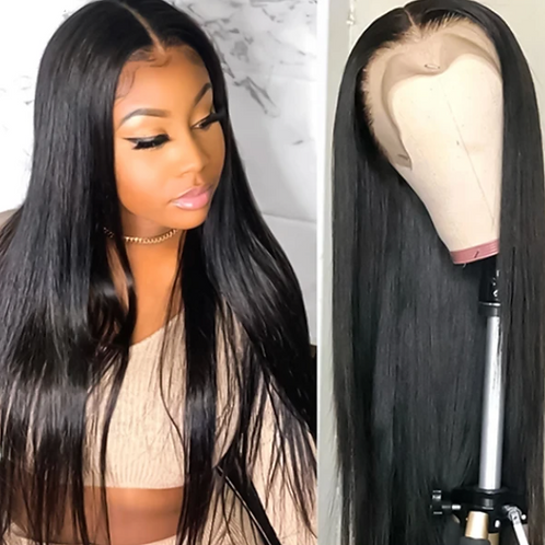 Luxury Straight Frontal Lace Wig - 13*4