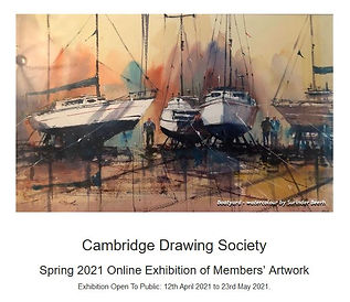 CDS spring online exhibition 2021 poster