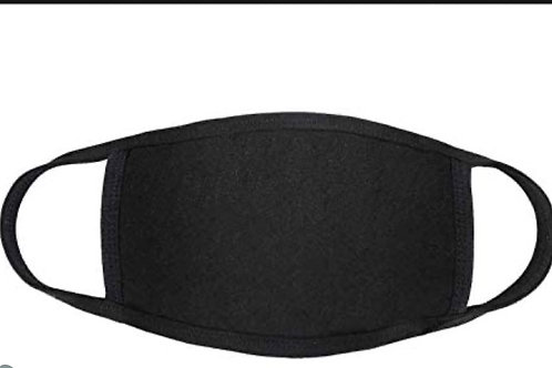 Fashion Black Face Coverings
