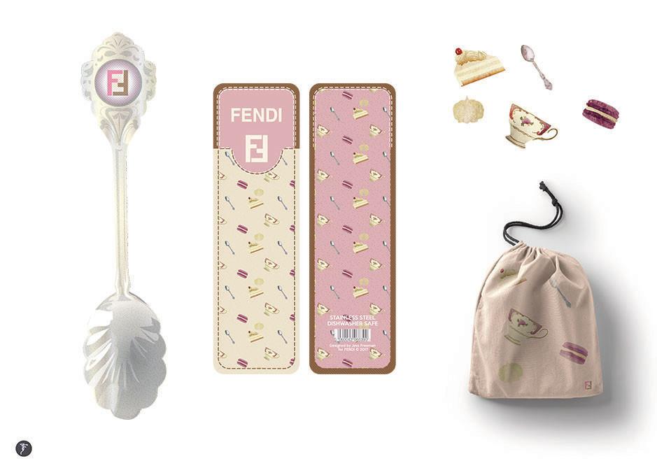 Fendi Promotional Teaspoon