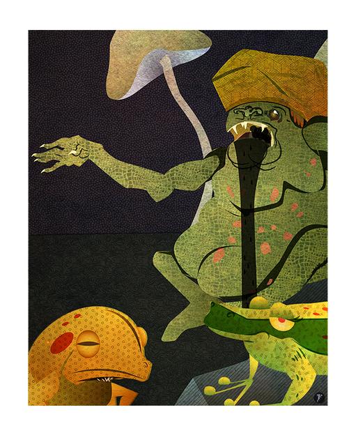 The Quack Frog: The Devil