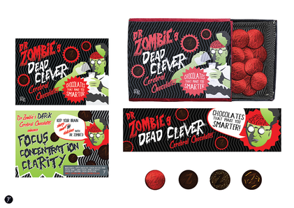 Dr Zombie's Dead Clever Cerebral Chocolates