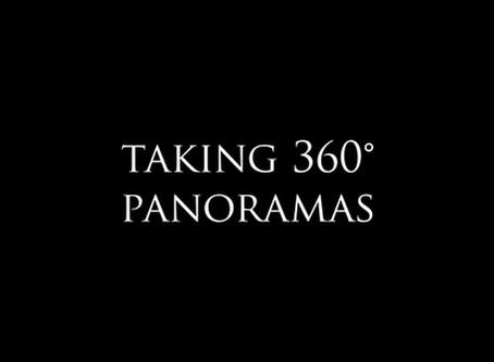 How to take 360° panoramas?