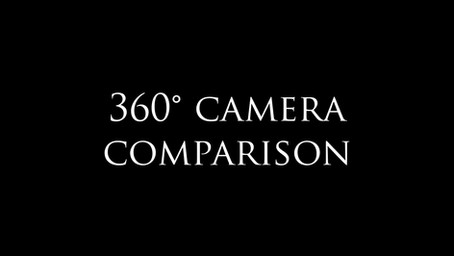 Which 360° camera do I pick for Virtual Tours?
