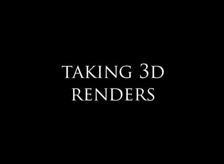 How to create 360° renders?