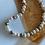 Thumbnail: Colar curto perola shell bronze/ rosee