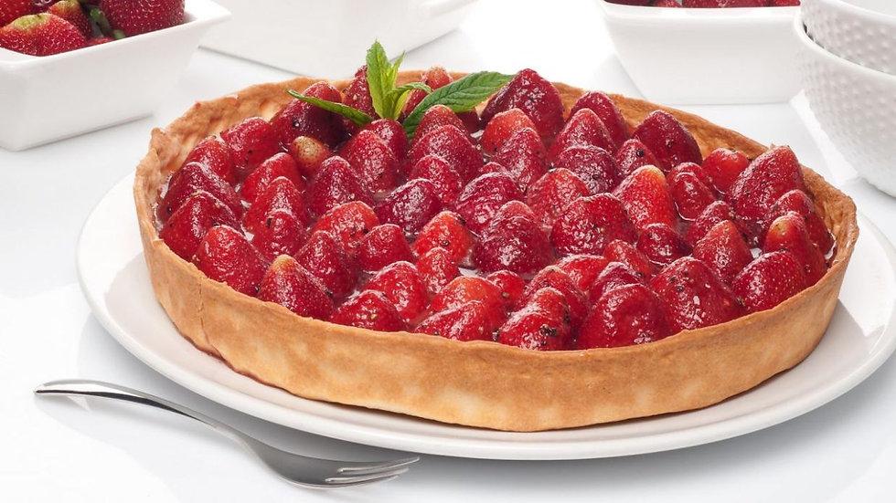 Tarta de fresas (Chef Jérémy Denier)