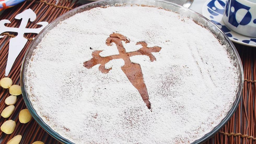Tarta Santiago (Chef Gaby Castro)