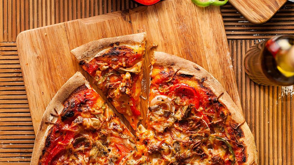Pizza Italiana vs México (Chef Gerardo Soberón)