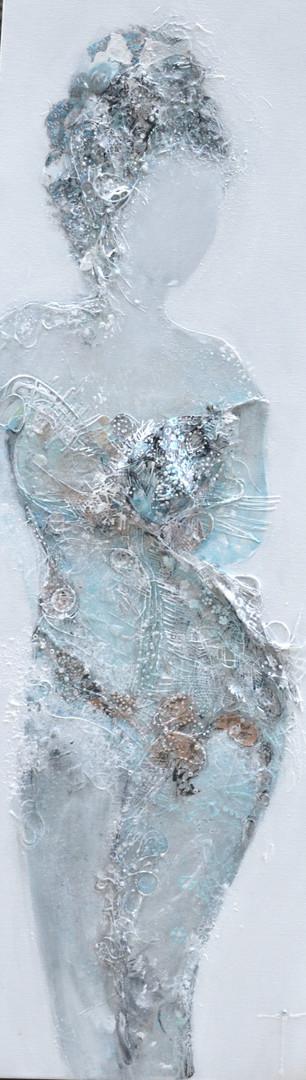 La Bella regazza, 30 x 90 cm