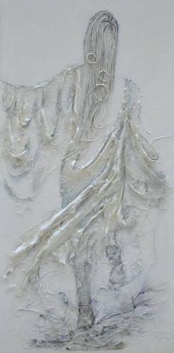 Femme de lumière 73 x 116 cm