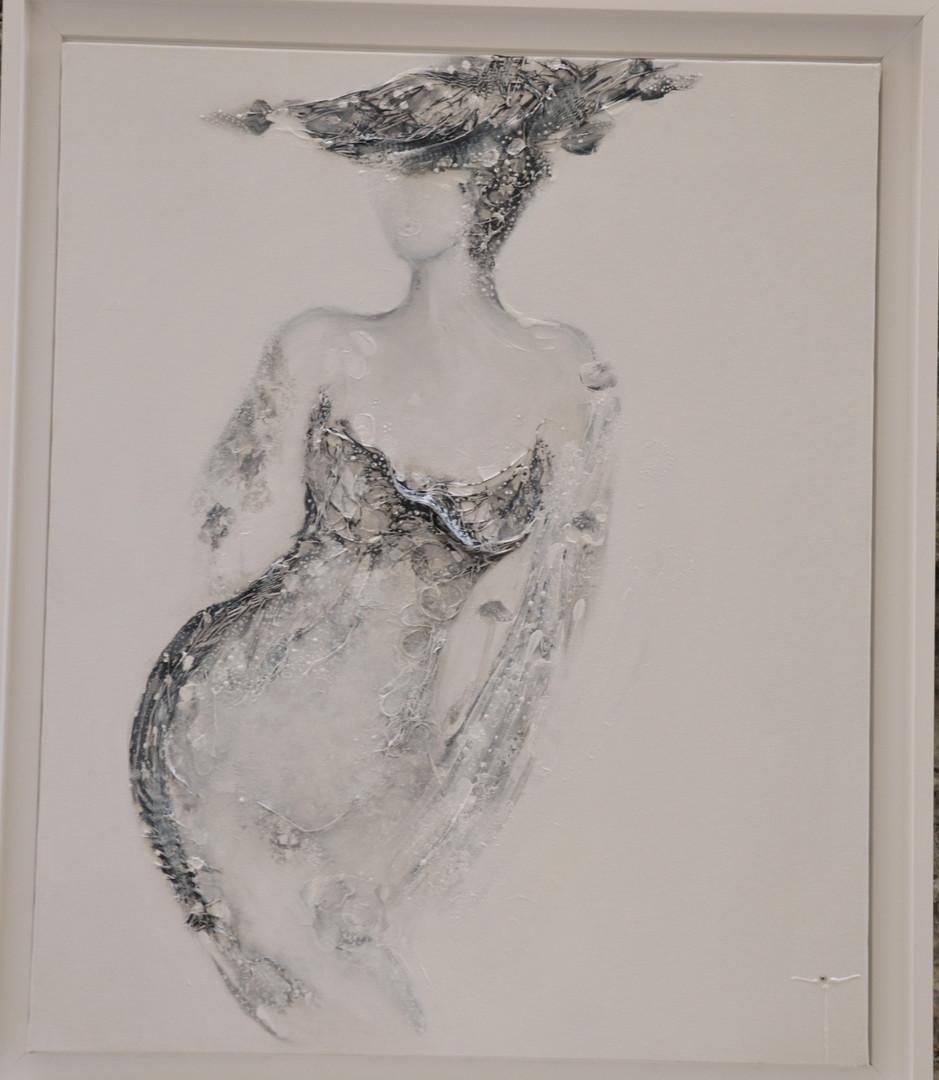 La Passante de Baudelaire, 54 x 73 cm
