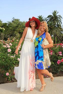 Marilyne et moi, Roseraie